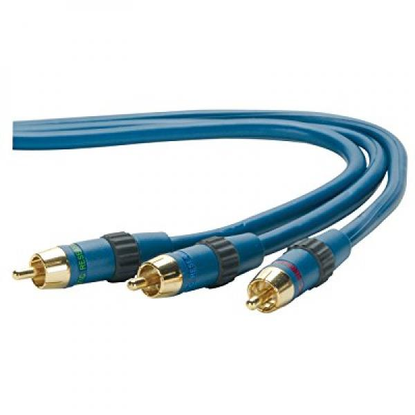 Acoustic Research AP090  3 pc Red/Blue/Green Compoment Video Cable (3 feet)