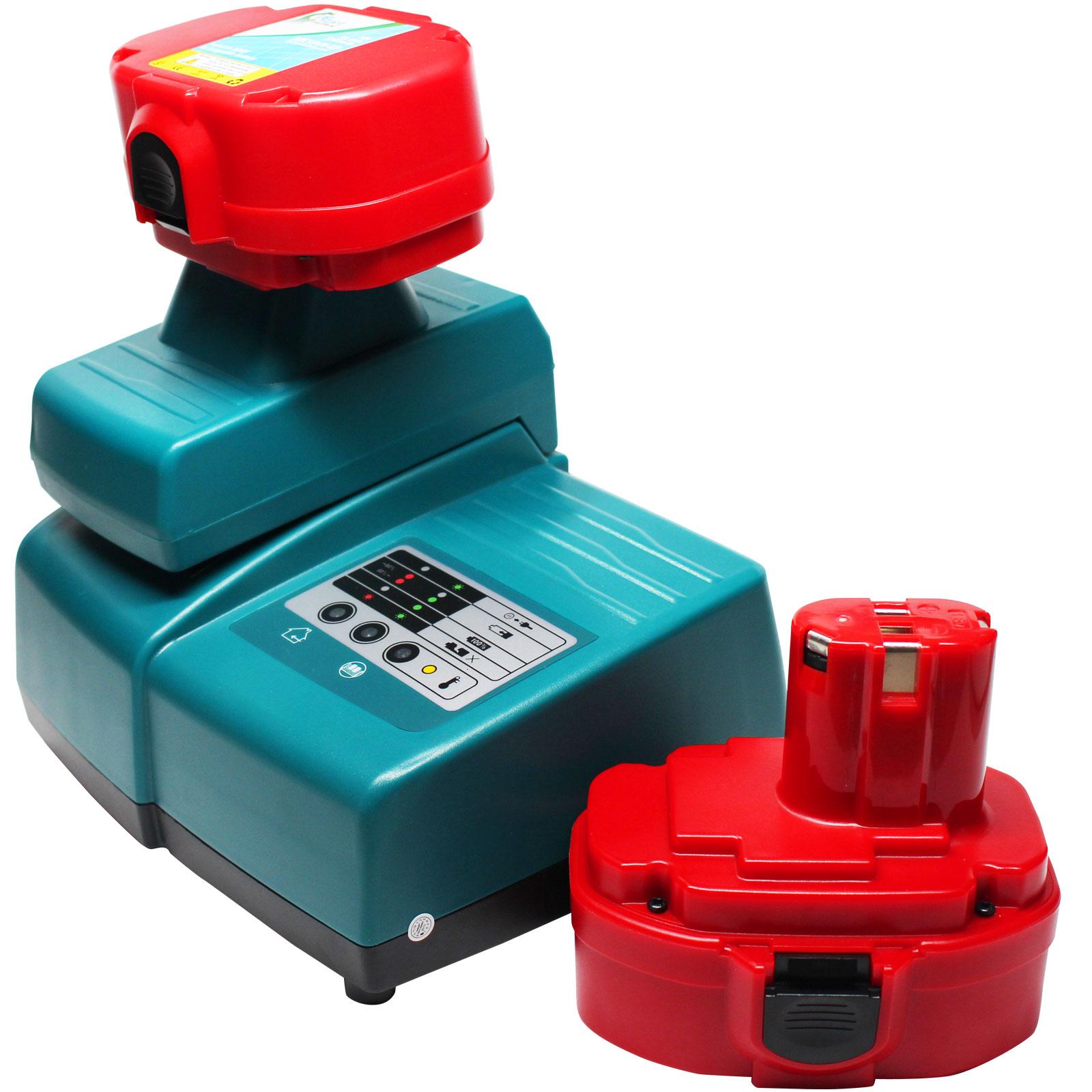 UpStart Battery 2-Pack - Makita 1822 Battery + Universal ...