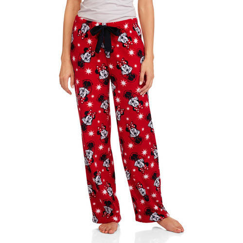 Minnie Mouse Fleece Pajama Lounge Pants
