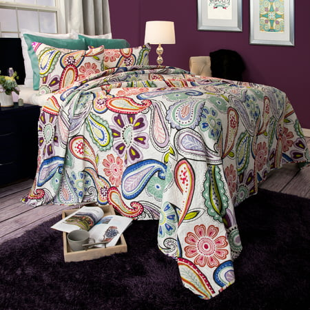 Somerset Home 2pc Lizzie Paisley Quilt Bedding Set ()