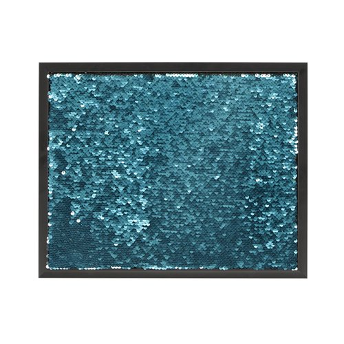 Mercer41 Reversible Sequins Message with Frame Wall Mounted Bulletin Board
