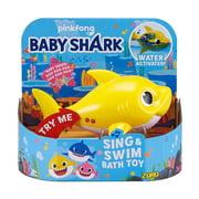 Sing & Swim Baby Shark Robotic Bath Toy [Yellow]