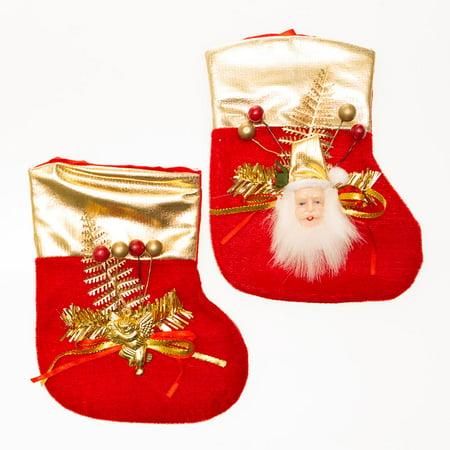 Small Christmas Elegance Stockings - Small Christmas Stockings