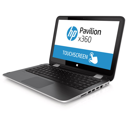 "Refurbished HP 13-a019wm 13.3"" X360 Convertible Laptop AMD A6 4GB Memory 500GB Drive Win 8"