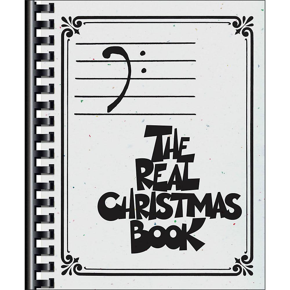 Hal Leonard The Real Christmas Book - Bass Clef Edition