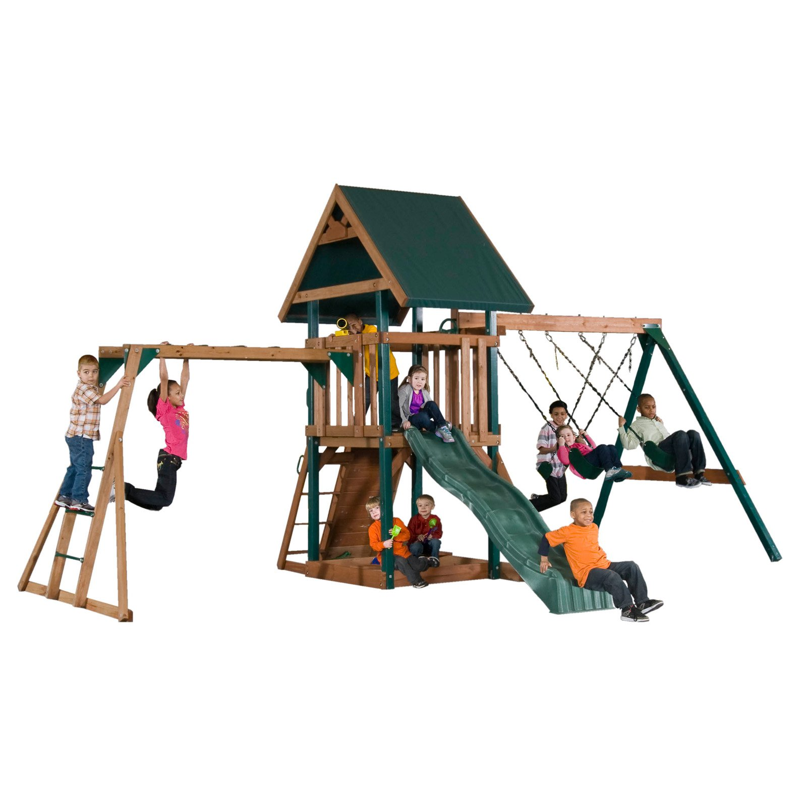 Backyard Play Systems Mongoose Manor