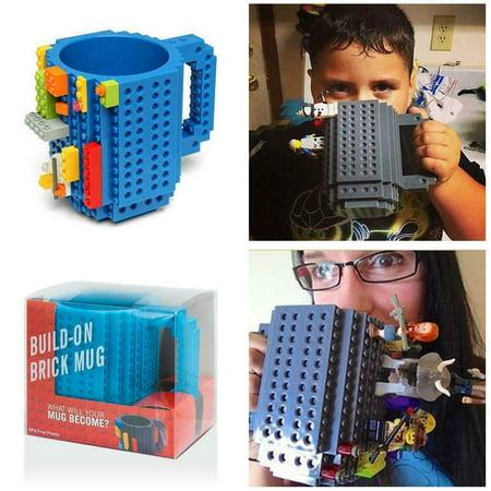 DIY Creative Lego Brick Building Mug Assemble Puzzle Blocks Gift Cup (9 Colors) - image 6 of 12