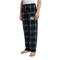 Men's Navy/Black North Carolina Tar Heels Ballot Flannel Lounge Pants