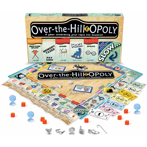 Over-the-Hill-opoly Game