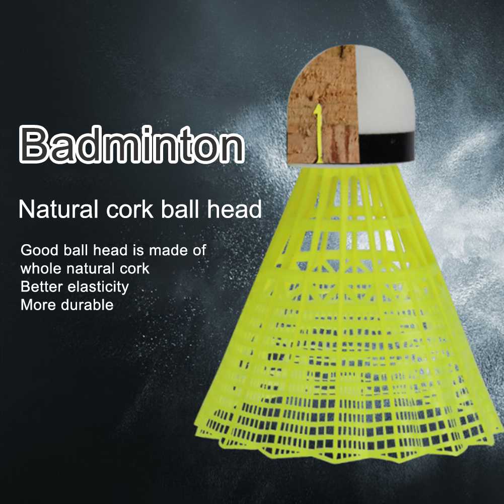 Bloomma Elastic Children Adult Badminton Trainer Single Play Rebound Practice Swing Automatic Sparring Badminton Set Self-study Rebound Power Base for Badminton Learners