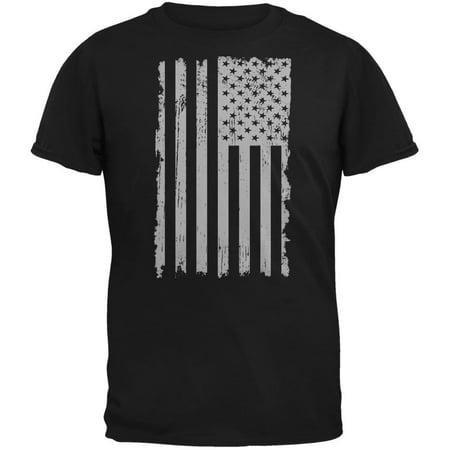americana 4th of july distressed grey vertical american flag black