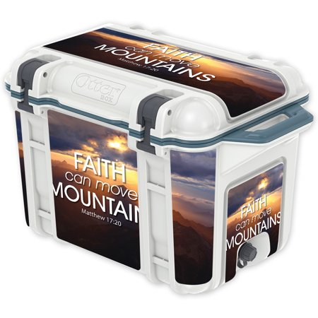Skin Decal Wrap For Otterbox Venture 45 Qt Cooler Sticker Move Mountains