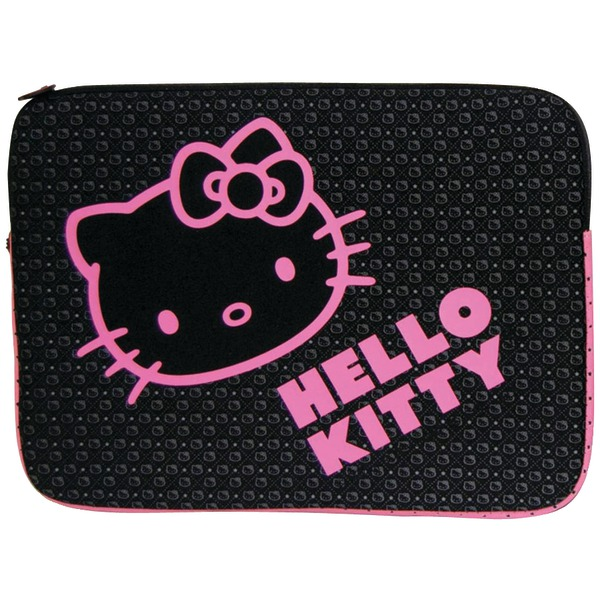 "HELLO KITTY KT4311BP 9""-11"" Notebook Sleeve (Black)"