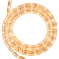 18 ft. Clear Rope Light Kit, 216 Incandescent Lights, Ready-to-Install, Mounting Clips Included