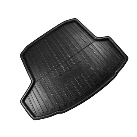 Car Rear Trunk Floor Mat Cargo Boot Liner Carpet for Skoda Octavia MK3 14-18 - image 2 de 3