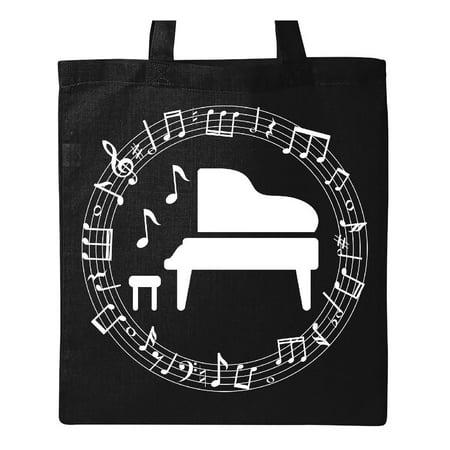 Piano Student Music Teacher Gift Idea Tote Bag