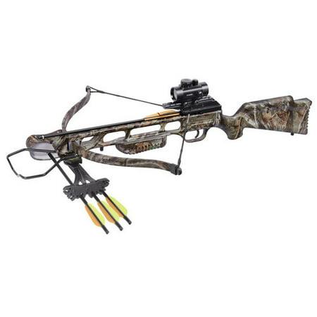 Centerpoint XR175 Recurve Crossbow Bundle, Camo