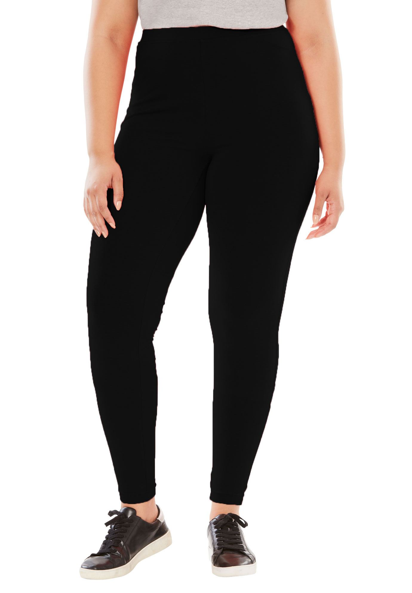Plus Size Stretch Cotton Legging