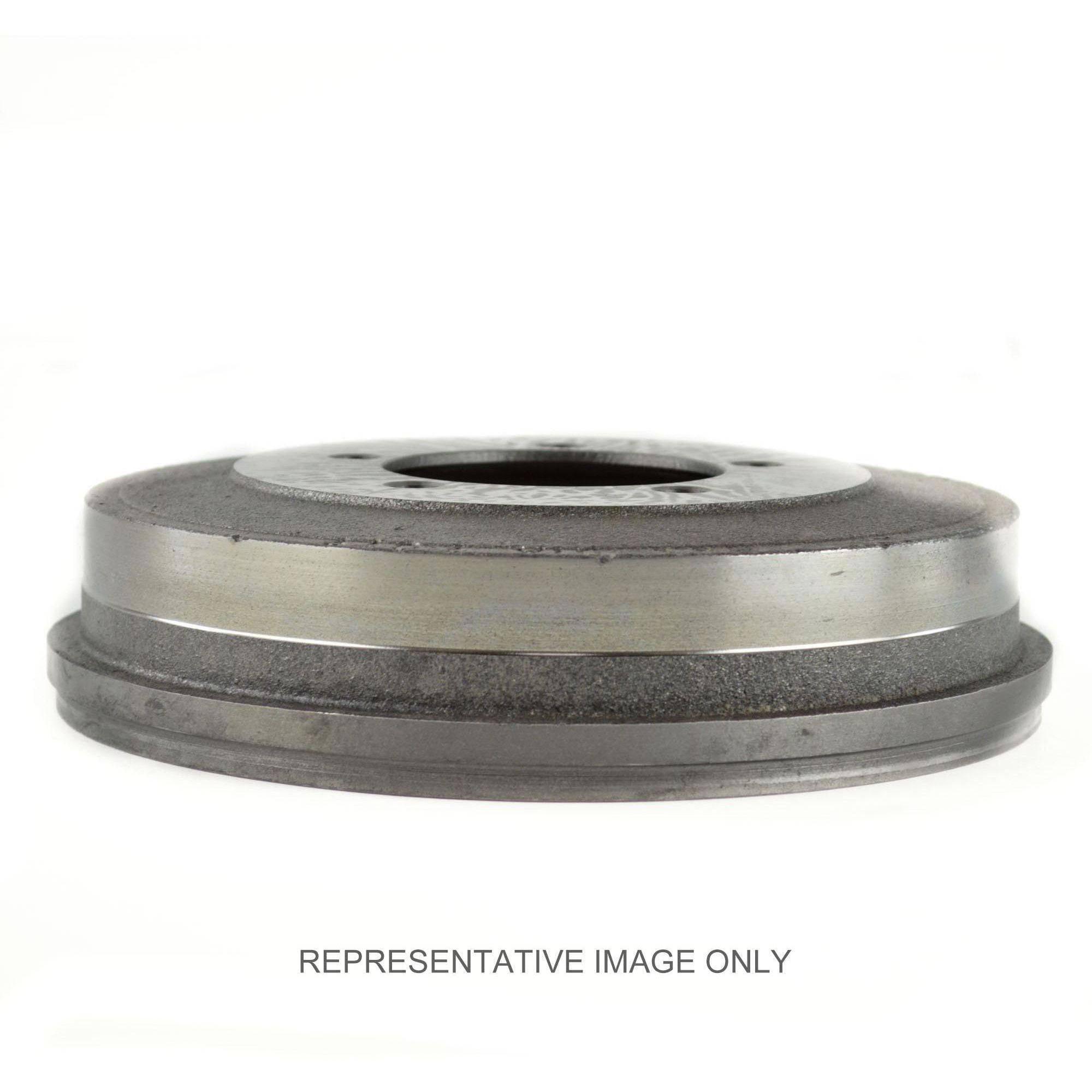 Centric Brake Drum, #122-25000