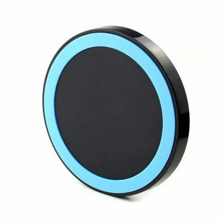 Wireless Charger, Qi Certified Wireless Charging Pad Compatible with iPhone Xs Max/XS/XR/X/8/8 Plus, Samsung Galaxy S10/S10+/S10E/Note 9/S9/S9+/Note 8/S8/S7 ()
