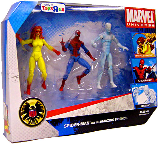 Hasbro Marvel Universe Exclusives Spider-Man & His Amazin...
