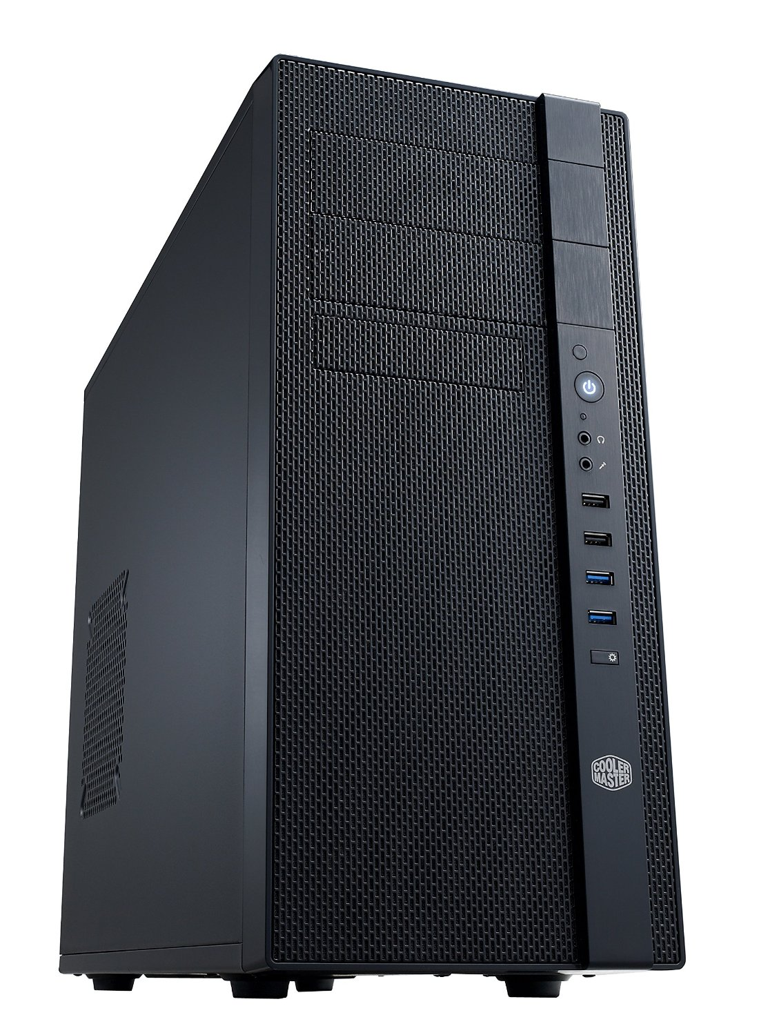 Cooler Master N400 Mid-Tower Fully Meshed Front Panel Computer Case (NSE-400-KKN2) by Cooler Master
