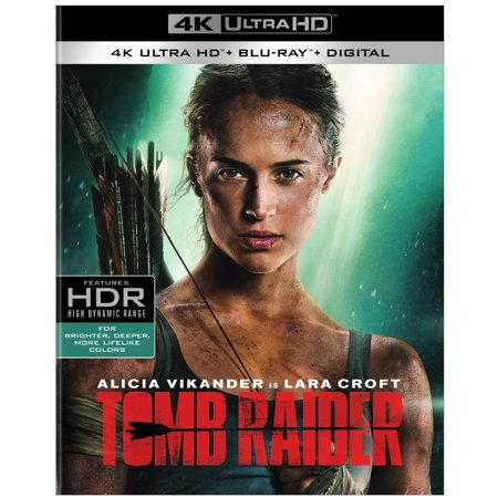 Tomb Raider (2018) (4K Ultra HD + Blu-ray + Digital)