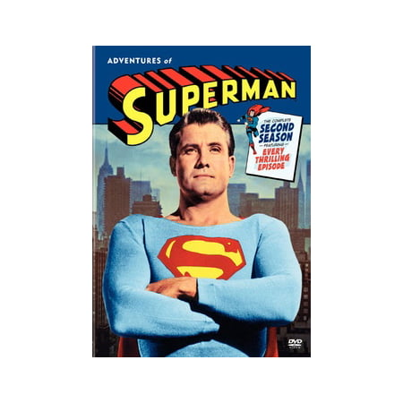 Adventures of Superman: The Complete Second Season (Lois Lane The New Adventures Of Superman)