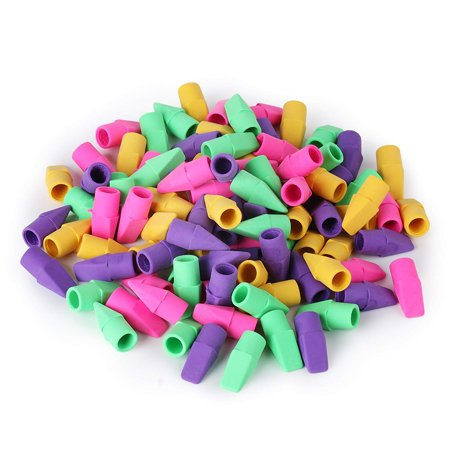 Mr. Pen - Pencil Erasers, Pencil Top Erasers, 100 Pieces Cap Erasers, Eraser Tops, Pencil Eraser Toppers, School Erasers for Kids, School Supplies for Teachers, Eraser Pencil, Earasers, Eraser Caps