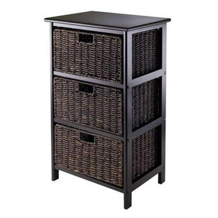 Omaha Storage Rack with 3 Foldable Baskets