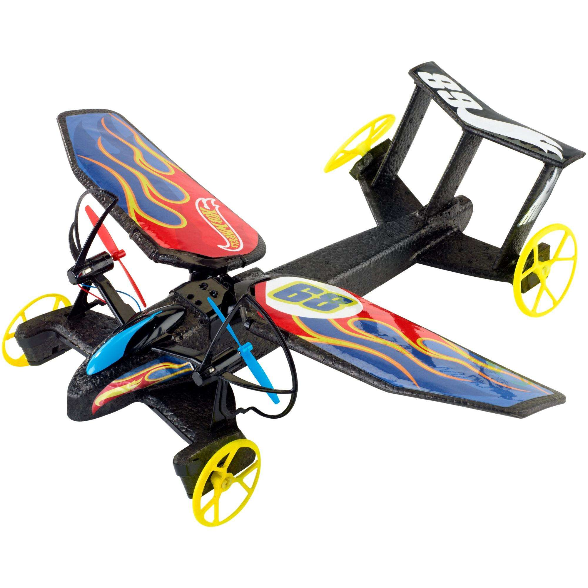 Hot Wheels RC Sky Shock Vehicle (Flame) by Mattel