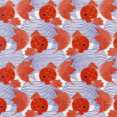 """Comfy Flannel Print 44/45"""" Wide 100% Cotton D/R-Blue Multi/Orange"""