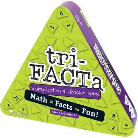 Learning Resources Tri Facta Multiplication   Division Game