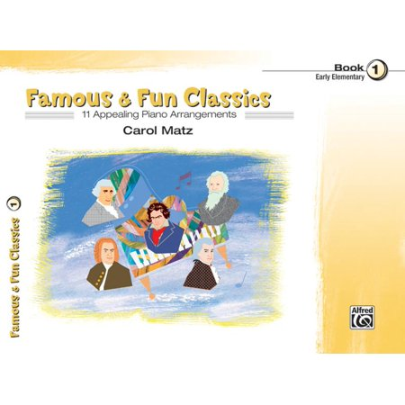 Famous & Fun: Famous & Fun Classic Themes, Bk 1: 11 Appealing Piano Arrangements (Paperback) - Halloween Theme Piano Cover