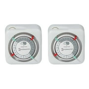 intermatic tn111k 15 amp lamp and appliance timer 2 pack - Lamp Timer