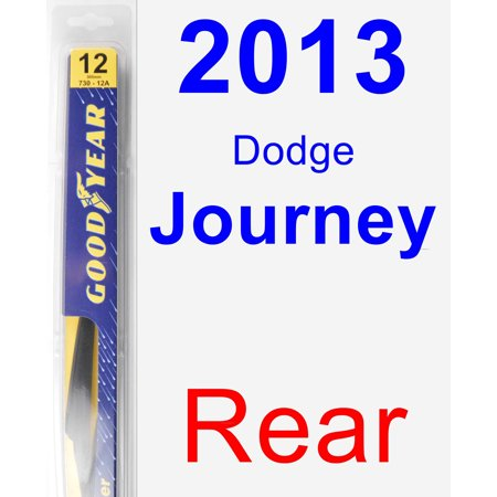 2013 Dodge Journey Rear Wiper Blade - Rear