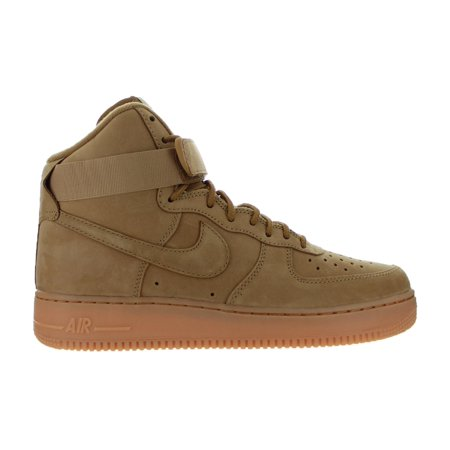 Mens Nike Air Force 1 High '07 LV8 Wheat Flax Gum Brown 882096-200