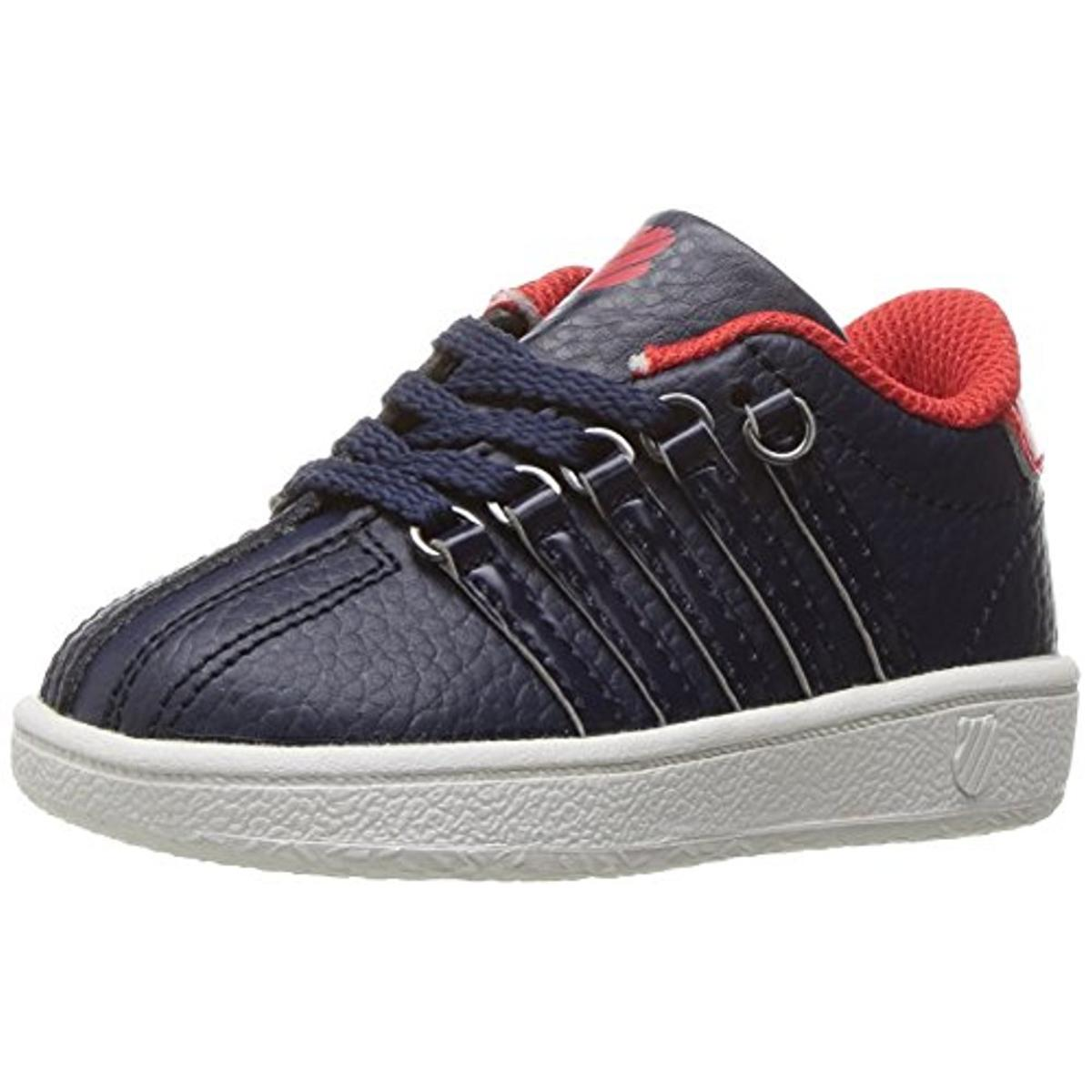 K-Swiss Boys Classic VN Signature Low Top Athletic Shoes by K-Swiss