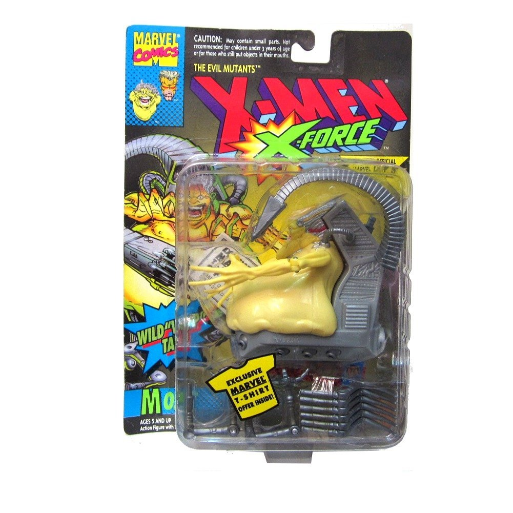Toy Biz Marvel X-Men: X-Force Mojo Action Figure 4 Inches, Includes: Mojo figure, tail, 2 leg pincers, 6 legs,... by