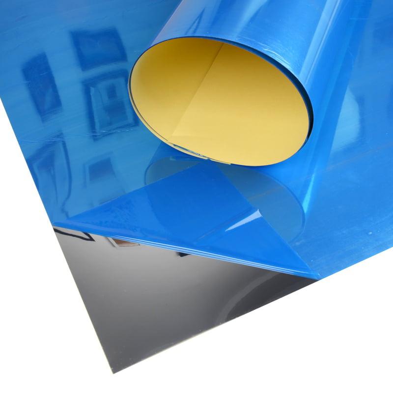Self Adhesive Mirror Reflective Tiles Wall Sticker Film Wall Paper DIY 60x100cm