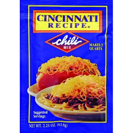 Am Chilean Chile ((4 Pack) Cincinnati Recipe Chili Mix, 2.25 OZ)