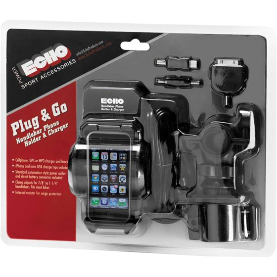 Echo Plug Go Cellgps Chg Holder Black Walmart