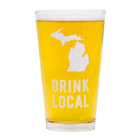 About Face Designs Michigan Beer Pint