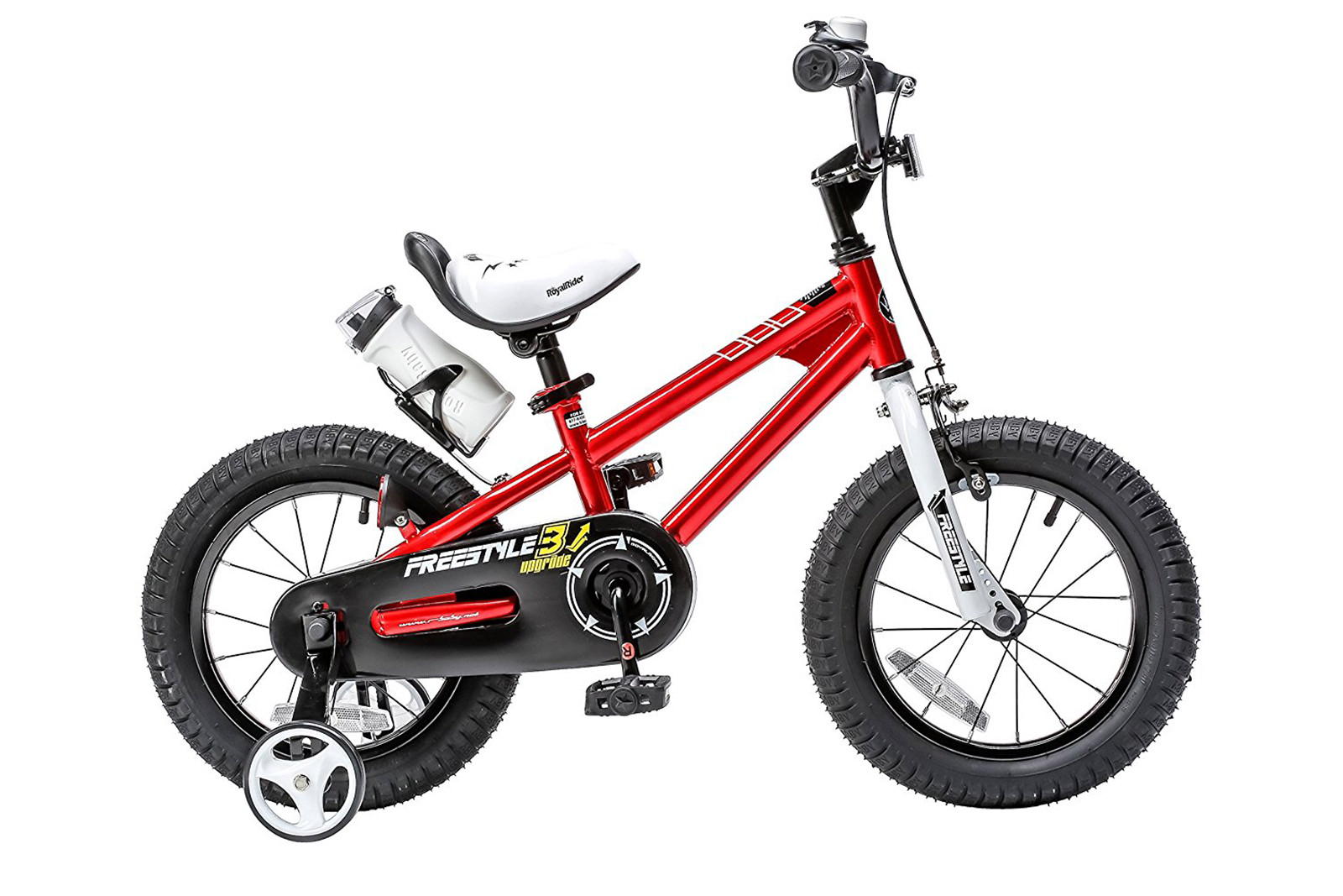 RoyalBaby Freestyle Red 14 inch Kid's Bicycle by RoyalBaby