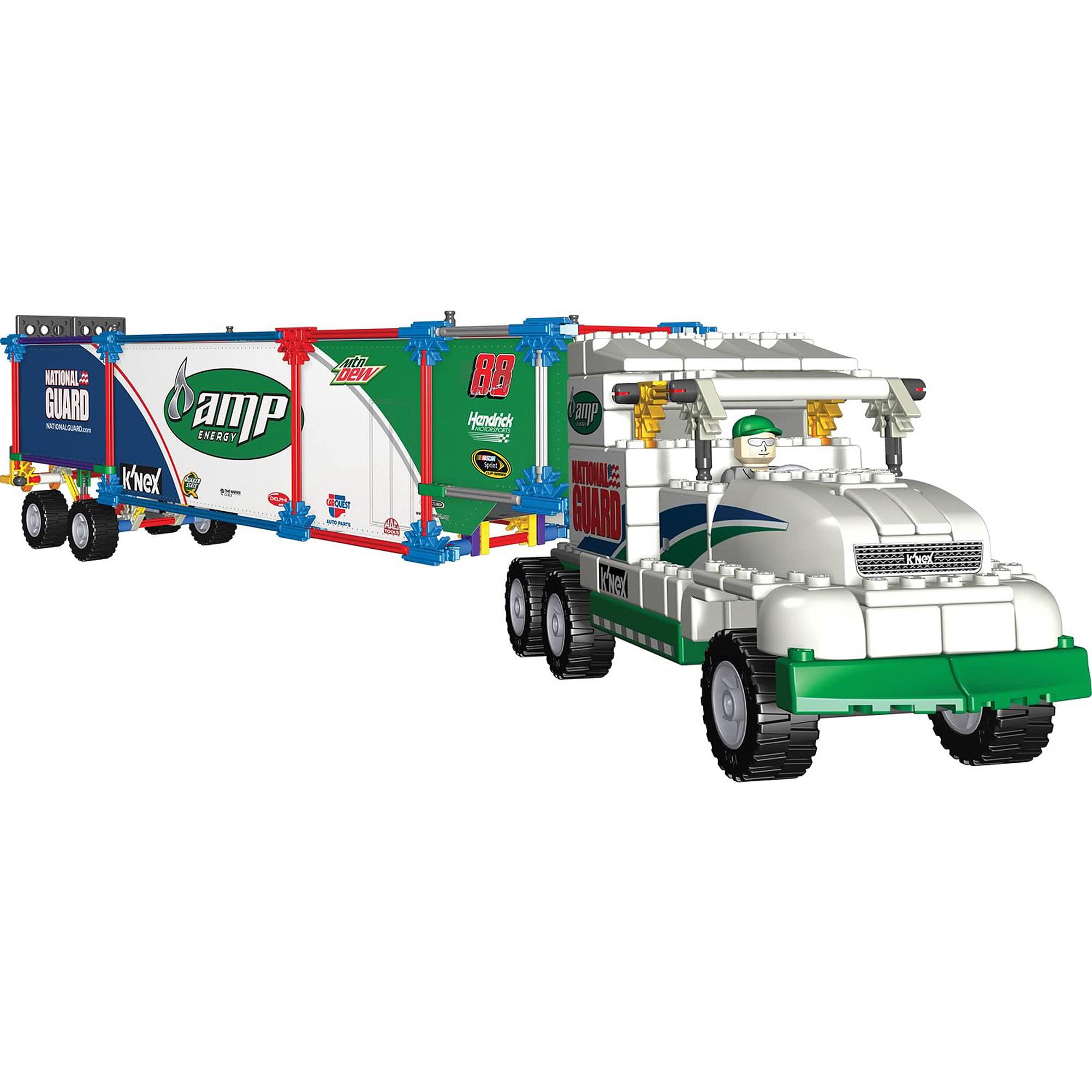 K'NEX Nascar Building Set: Dale Jr.'s #88 Amp Energy Transporter Rig