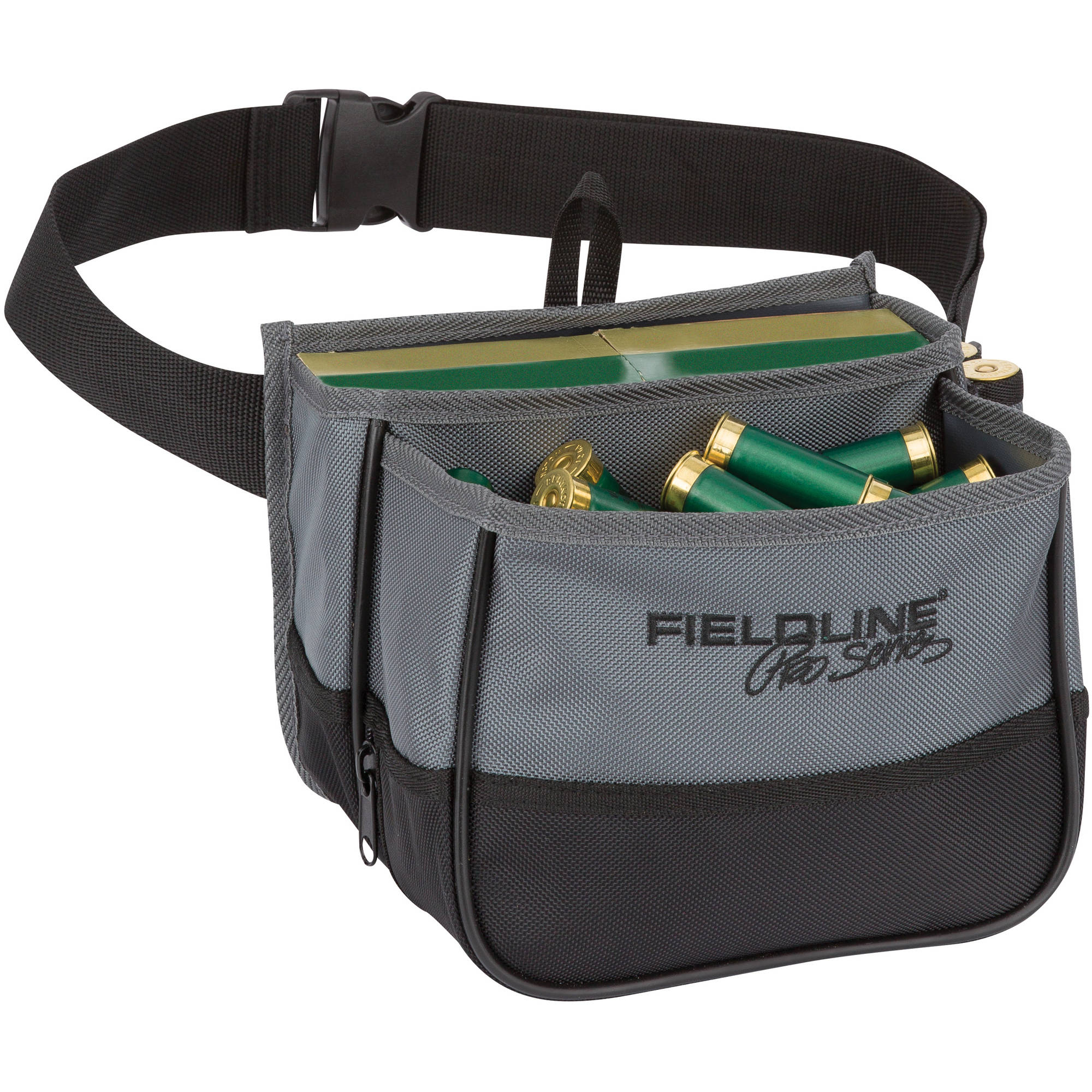 Fieldline Pro Series Black/Gray Small Trap Shell Pouch