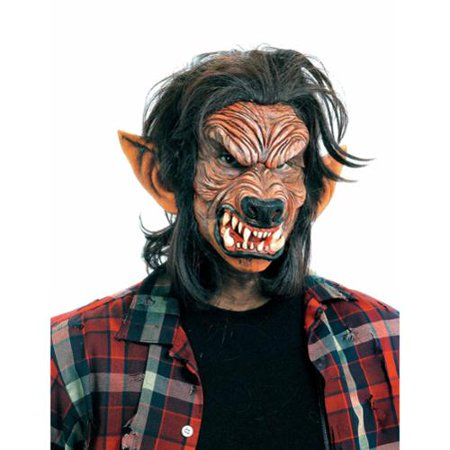Don Post Werewolf Full Face Kit Costume Appliance - Post Apocalyptic Costumes