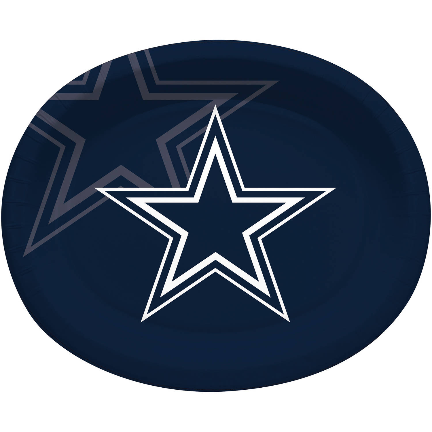 Dallas Cowboys Oval Platters, 8-Pack