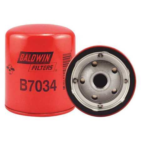 BALDWIN FILTERS B7034 Oil Filter, Spin-On, By-Pass