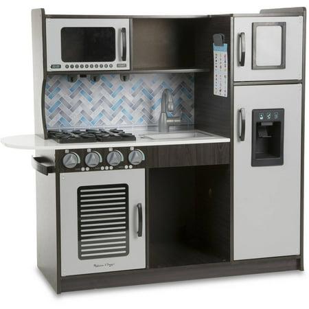 Melissa Doug Chef S Kitchen Pretend Play Set Charcoal